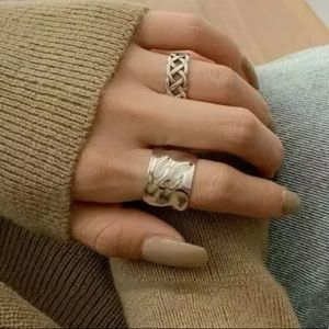 Minimalist 925 Sterling Silver Chunky Ring